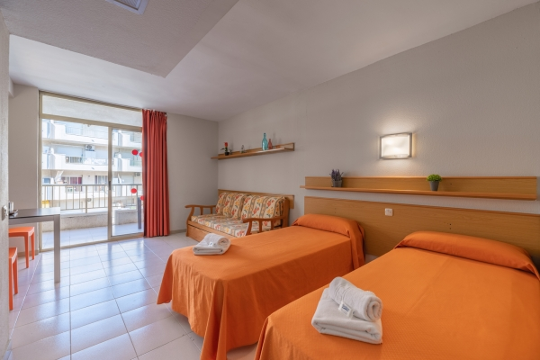 Apartments Salou Pacific - Studio 2 people